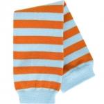 BabyLegs Orange/Aqua Stripe